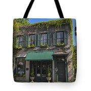61 Queen Street In Charleston Tote Bag