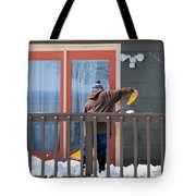 Winter Snow. Tote Bag