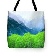 Nature Work Landscape Tote Bag