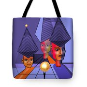634 -  The Golden Gift . A.. Tote Bag