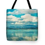 Nature Landscape Painting Tote Bag
