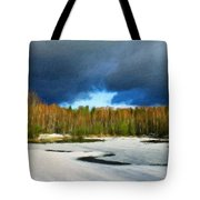 Nature Landscape Wall Art Tote Bag