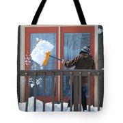 Winter Snow. Tote Bag