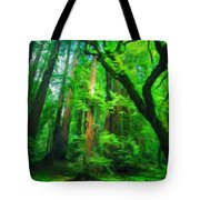 Nature Landscape Light Tote Bag