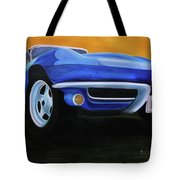 66 Corvette - Blue Tote Bag
