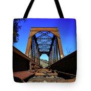 6696 Railroad Bridge Tote Bag