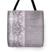 Interfaith Or Reformed Ketubah To Fill Tote Bag