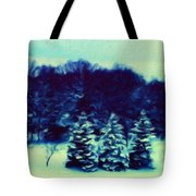 Nature Landscape Wall Art Tote Bag