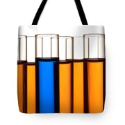 Test Tubes In Science Research Lab Tote Bag