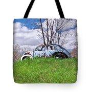 67 Volkswagen Beetle Tote Bag