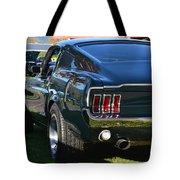 67 Mustang Fastback Tote Bag
