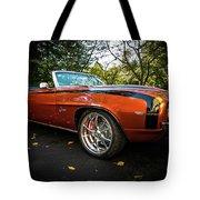 '69 Camaro Tote Bag