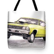 69 Chevelle Ss Tote Bag