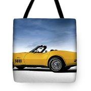 '69 Corvette Sting Ray Tote Bag