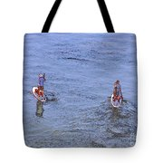 69- Paddle Boarders Tote Bag
