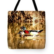 6980 - Wood Duck Tote Bag