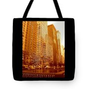 6th Avenue In Mahattan Tote Bag
