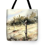 6th Grade Fence Tote Bag