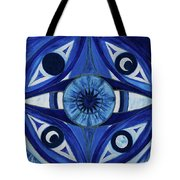 6th Mandala - Third Eye Chakra  Tote Bag