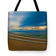 6x1 Philippines Number 413 Panorama Tagaytay Tote Bag