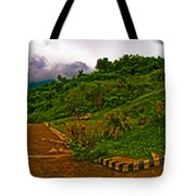 6x1 Philippines Number 470 Panorama Tagaytay Tote Bag