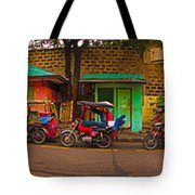6x1 Philippines Number 48 Panorama Tote Bag