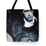 - Scarface - Tote Bag by Luis Ludzska