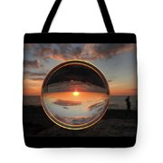 7-26-16--4577 Don't Drop The Crystal Ball, Crystal Ball Photography Tote Bag
