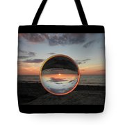 7-26-16--4581 Don't Drop The Crystal Ball, Crystal Ball Photography Tote Bag