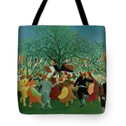 A Centennial Of Independence Tote Bag
