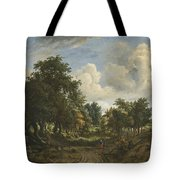 A Wooded Landscape Tote Bag