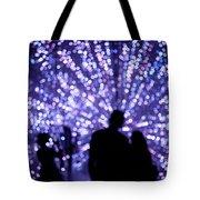 Abstract Light Tote Bag