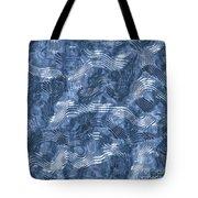 Alien Fluid Metal Tote Bag