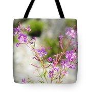 Alpine Wildflower Tote Bag