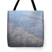 An Aerial View Of Ohio Tote Bag