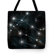Artists Depiction Of The Constellation Tote Bag