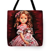 Baby Doll Collection Tote Bag
