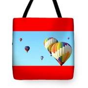 7 Balloons Tote Bag