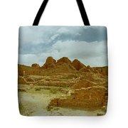 Chaco Canyon Ruins 7 Tote Bag
