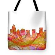 Charlotte Nc Skyline Skyline Tote Bag