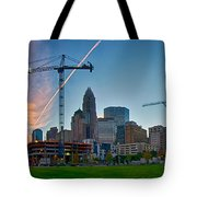 Charlotte North Carolina Early  Morning Sunrise Tote Bag