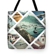 Collage Of Rio De Janeiro Tote Bag