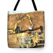 construction whsd Peterburg Tote Bag