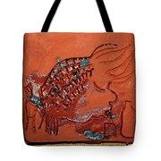 Crazy Pineapple - Tile Tote Bag