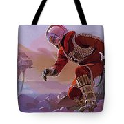 Episode 1 Star Wars Art Tote Bag