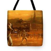 Episode 2 Star Wars Art Tote Bag