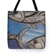 7 Fish Tote Bag