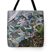 7. Ice Prismatics And Heather, Slaley Sand Quarry Tote Bag