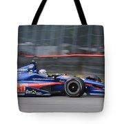 High Speed Indycar Tote Bag