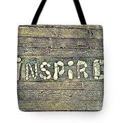 Inspiring Rock Art Tote Bag